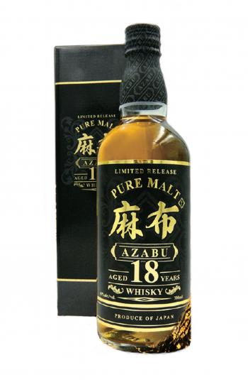 AZABU Whisky Single Malte Japonais 18 ans 43% bouteille de 70cl