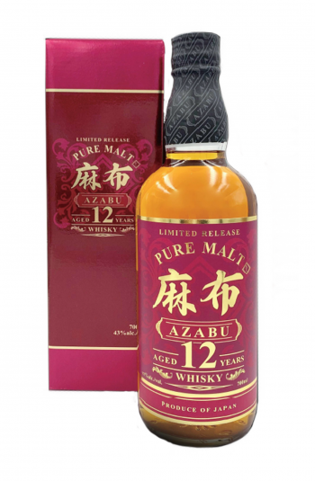 AZABU Whisky Single Malte Japonais 12 ans 43% bouteille de 70cl