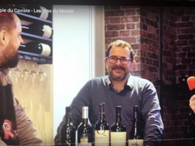 R Télé la groupie du caviste - introduction sur les vins du monde  avec Jean-Cédric Deguy
